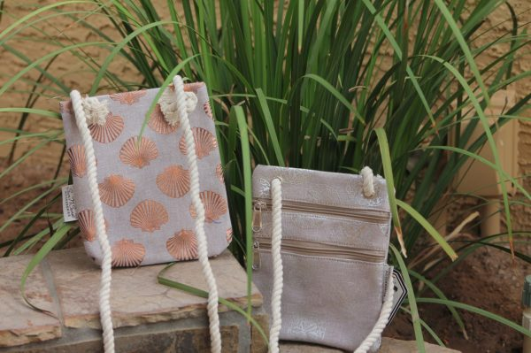 Shop for a variety of beautiful bags from The Reluctant Boater, our curated collection of supplies and accessories are perfect for everyone, these have a gorgeous seashell pattern that is sure to attract compliments from your friends